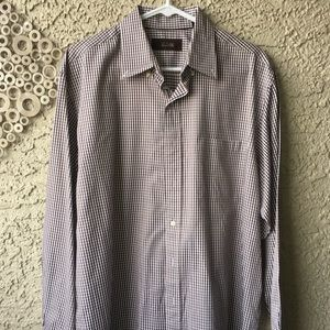 Tasso Elba Men's Oxford Shirt.  Medium